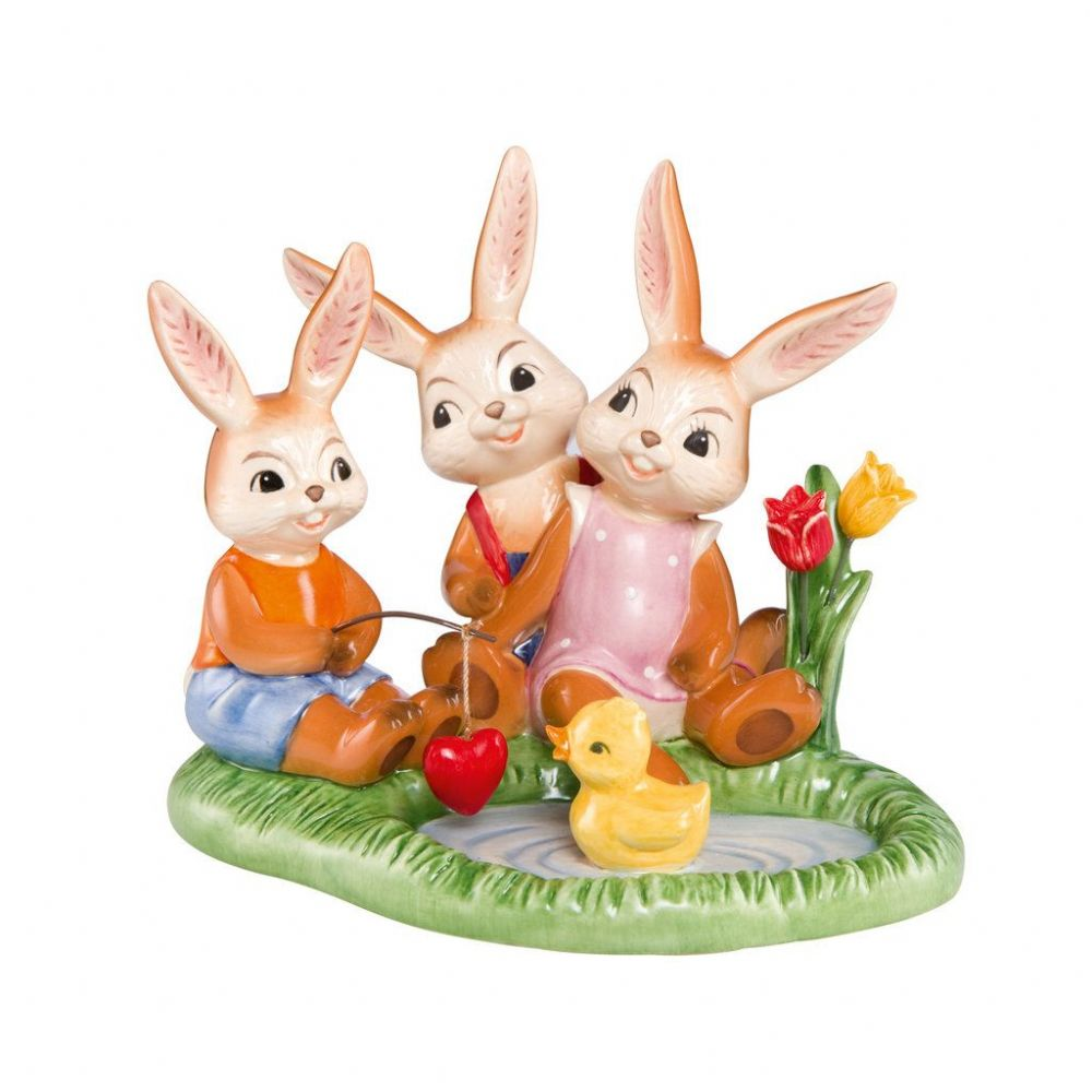 Perfect Family Limited Edition Easter and Spring Figurine by Goebel Porcelain 66843701
